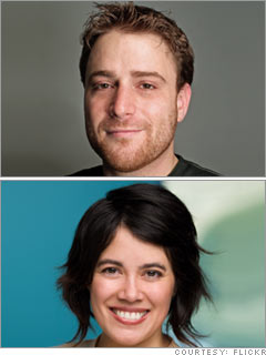 Stewart Butterfield and Caterina Fake