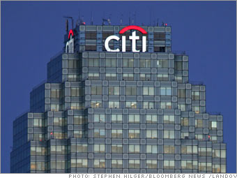 Citigroup, global banking division