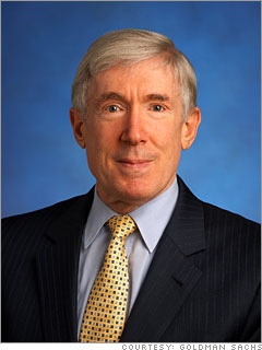 Bob Hormats, Obamas latest Goldman appointee.