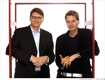 Janus Friis and Niklas Zennström