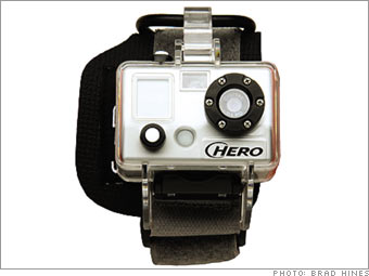 GoPro's Digital Hero 3 Camera $140