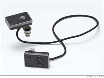 Etymotic Research's ety8 Bluetooth earphones, $199 ($299 with iPod Bluetooth adaptor)