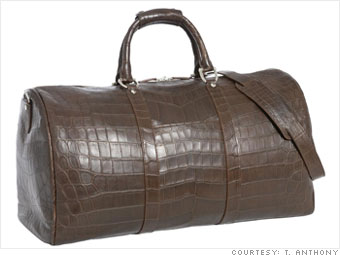 T. Anthony alligator duffel