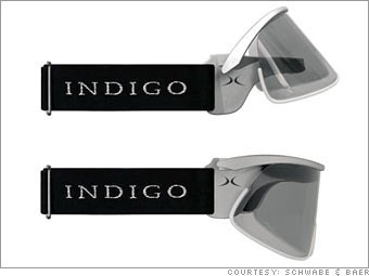 Indigo sports glasses