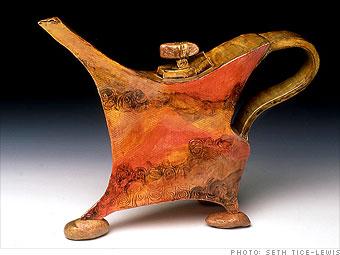 Stone Prancer Teapot