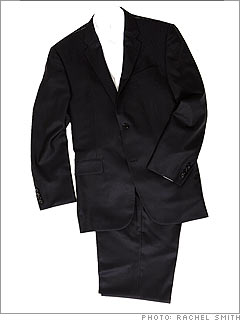 Hickey Freeman Barrett<br>solid navy suit | $1,350