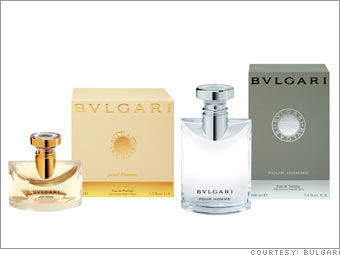Bulgari Pour Homme and Pour Femme fragrances