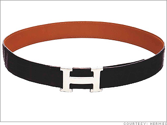 Herm&egrave;s belt
