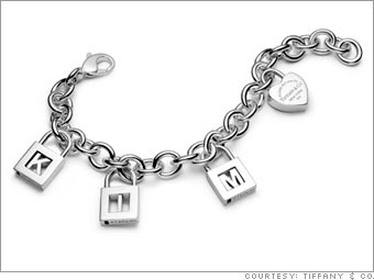 Tiffany & Co. charm bracelet