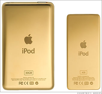 Amosu gold iPod