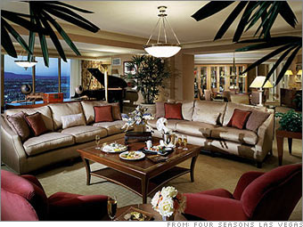 Presidential suite at the Four Seasons