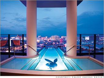 5 Lush Las Vegas Suites Hefner Suite At The Palms 2