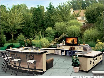 It 39 s timbuktoo here 5 killer outdoor kitchens for Luxury outdoor kitchen