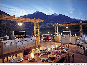 Summer 2012: Outdoor Kitchens