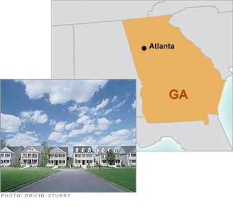 Top Cities Where To Buy Now Business - Where is atlanta