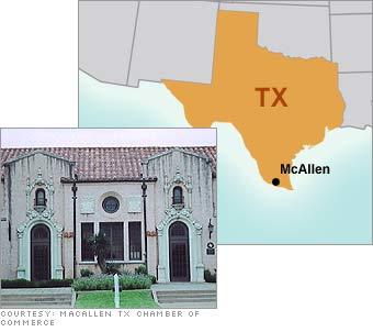 5. McAllen, TX