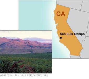 6. San Luis Obispo, CA
