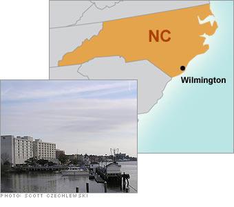 7. Wilmington, NC