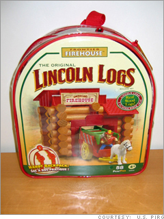 Lincoln Logs Frontier Firehouse, Frontier Sheriff's Office