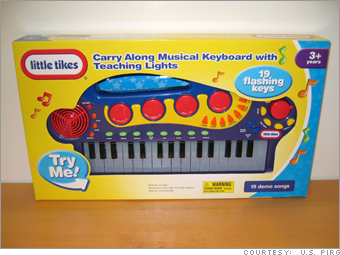 Little Tikes Carry Along Musical Keyboard with Teaching Lights